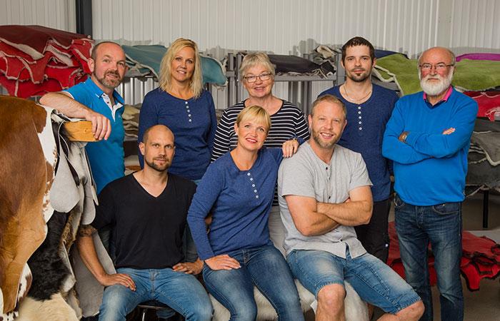 Donnia skinn, ett familjeföretag.